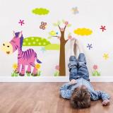 Sticker perete magarul fericit stickere camera copil bebe TRANSPORT GRATUIT