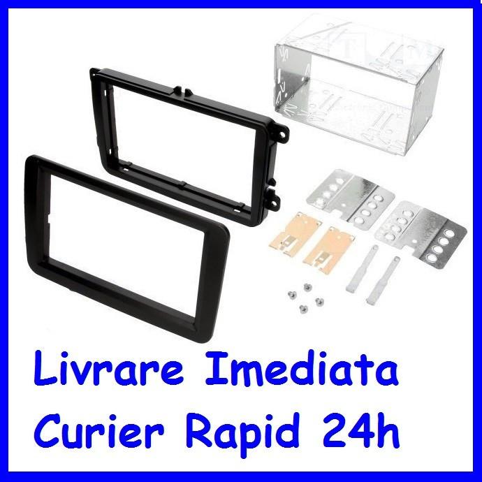 Rama adaptoare Skoda Fabia II 2007-> - 2 DIN AL-200617-3