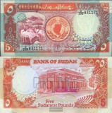 SV * Sudan  LOT  5   POUNDS  1991     AUNC+    si    100  POUNDS  1989     UNC