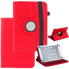 Husa Protectie Universala Tablata Rotativa 360° 8 Inch, Universal