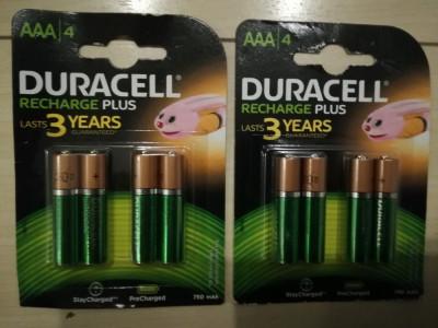 Set 4 buc Acumulatori AAA R6 750 mah DURACELL (noi) foto