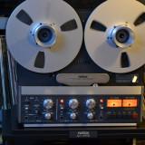 Magnetofon REVOX B 77 4 Track -low speed-stare ca nou , dust cover- STUDER