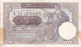 SERBIA 100 dinara 1941 VF+!!!