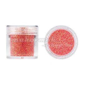 Pudră cu glitter pentru nail art - roșu strălucitor, 10g foto