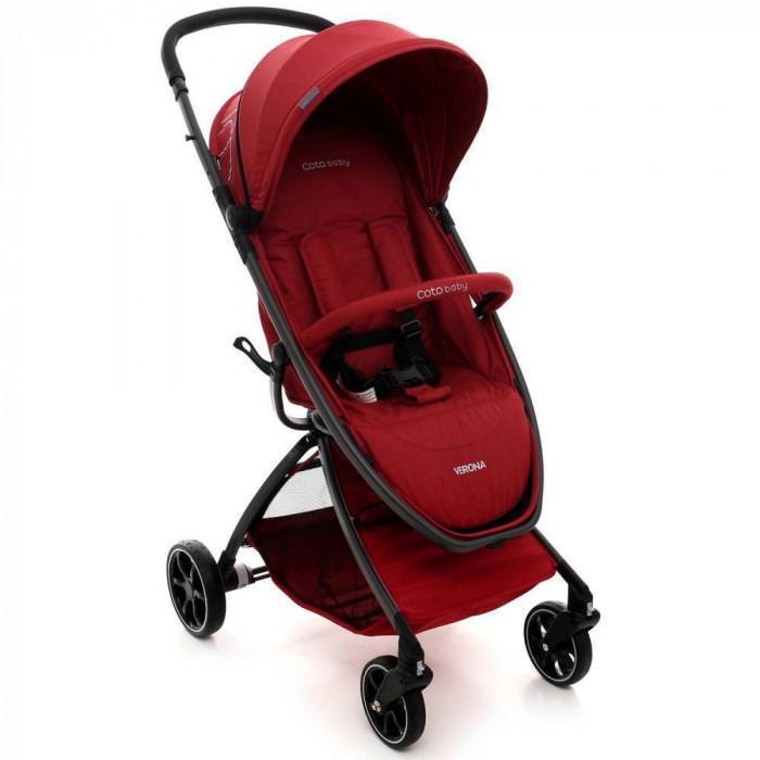 Carucior sport Verona Comfort line - Coto Baby - Rosu