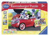 Puzzle Ravensburger Puzzle Mickey Mouse Clubhouse : Mickey, Minnie And Friends 2X12pcs