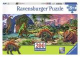 Puzzle Ravensburger Puzzle The Land Of Dinosaurs Xxl 200Pcs