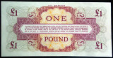 Bancnota 1 POUND -  BRITISH ARMED FORCES, seria 4 a *cod 788 --- UNC