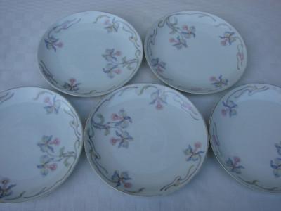 Set de cinci farfurii vechi pentru prajitura din portelan german ROSENTHAL foto
