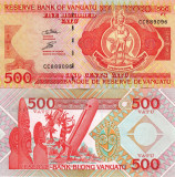 VANUATU 500 vatu 2011 UNC!!!
