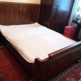 Cadru lemn pat dublu stil clasic