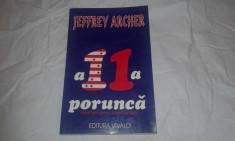 JEFFREY ARCHER - A 11 a PORUNCA foto