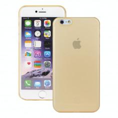 Husa Ultraslim Redneck Svelto 0.35mm pentru Apple iPhone 6/6s, Transparent Gold