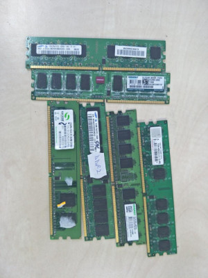 Memorie calculator ram DDR2 2gb 1gb 512mb 800mhz 667mhz 533mhz foto