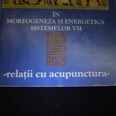 NUMARUL DE AUR IN MORFOGENETICA SI ENERGETICA SISTEMELOR VII-DAN VLAD FILIMON-, Alta editura