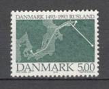 Danemarca.1993 500 ani relatiile diplomatice cu Rusia  KB.169