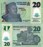 NIGERIA 20 naira 2018 polymer UNC!!!