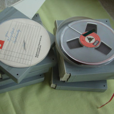 Banda Magnetofon BASF 13 cm Carcasa plastic dur - ca NOUA