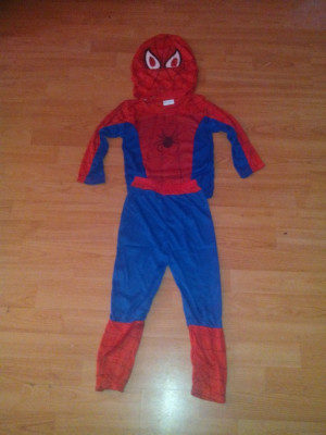 Costum Spiderman 5-6 ani foto