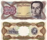VENEZUELA 100 bolivares 1998 UNC!!!
