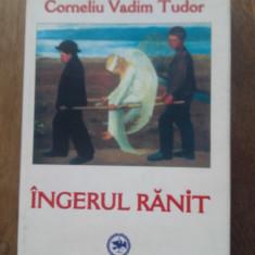 CORNELIU VADIM TUDOR(semnatura olografa) INGERUL RANIT,2004