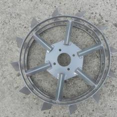 Roti metalice pentru motocultor 50cm pereche metal fier motosapa