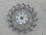Roti metalice pentru motocultor 60cm pereche metal fier motosapa