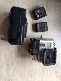 Gopro hero 3 + 2 baterii de rezerva, CMOS, Card Memorie