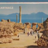 TUNISIA - CARTAGINA - 10 VEDERI CU RUINELE CETATII, POZE AERIENE - ISTORIA, Necirculata, Fotografie