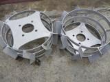 Roti metalice pentru motocultor 37cm