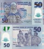 NIGERIA 50 naira 2011 polymer UNC!!!