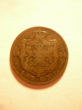 Moneda 5 Bani 1884 , cal. buna