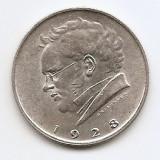 Austria 2 Schilling 1928 - (Franz Schubert) Argint 12 g/640, KM-2843 (2), Europa