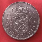 2 1/2 gulden 1980 Olanda, Europa