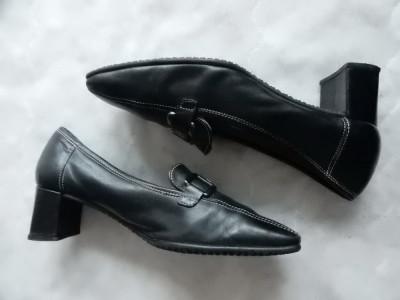 Pantofi Gabor Fashion piele naturala; marime 37 (23.5 cm talpic interior);ca noi foto
