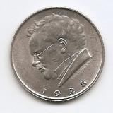 Austria 2 Schilling 1928 - (Franz Schubert) Argint  12 g/640, KM-2843 (1), Europa