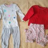 Pijamale doua parti, fete, 1-2 ani, 86-92 cm, 30, Multicolor
