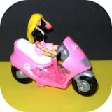Păpușa Barbie pe scuter_Mattel original