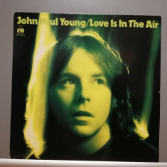 John Paul Young – Love is in the Air (1977/Ariola/RFG) - Vinil/Vinyl/Impecabil