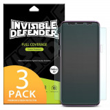 3X Folii Protectie Ringke Invisible Defender Samsung Galaxy S9 Plus - Full Cover