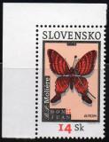 SLOVACIA 2003, EUROPA CEPT, Fauna, Fluturi, serie neuzata, MNH, Nestampilat