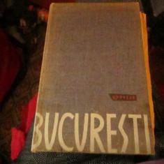 ghid bucuresti an 1962 cu harta c1