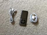 Ipod nano 5th gen 8gb Radio FM,camera video+cablu+casti(baterie 16ore), 5th generation, 8 Gb, Nespecificat