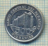 11718 MONEDA- PARAGUAY - 500 GUARANIES  -ANUL  2006 -STAREA CARE SE VEDE
