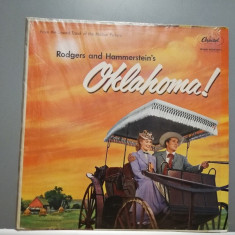 Oklahoma – Roger and Hammerstein -Original Soundtrack (1950/Capitol/USA) - VINIL, capitol records