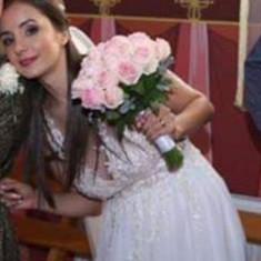 Rochie de mireasa+ voal mireasa