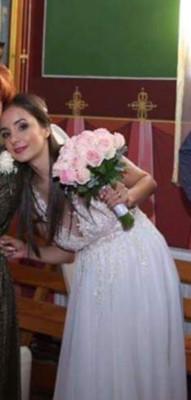 Rochie de mireasa+ voal mireasa foto