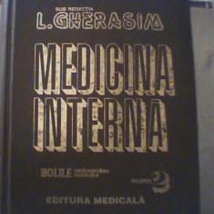 MEDICINA INTERNA / sub redactia L. Gherasim { volumul 2 } / 1999, Alta editura