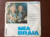 """Mia braia de ti-ar spune poarta ta disc single vinyl 7"""" muzica romante usoara, VINIL, electrecord"""