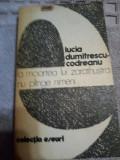 La moartea lui Zarathustra nu plange nimeni-Lucia Dumitrescu-Codreanu